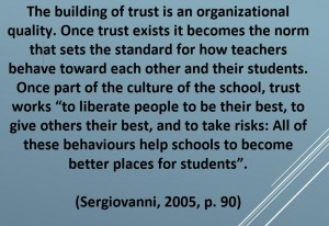 Sergiovanni - Trust